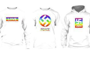 """Lanzan camisetas con la esvástica para que la consideremos """"un símbolo de amor y vida"""""""