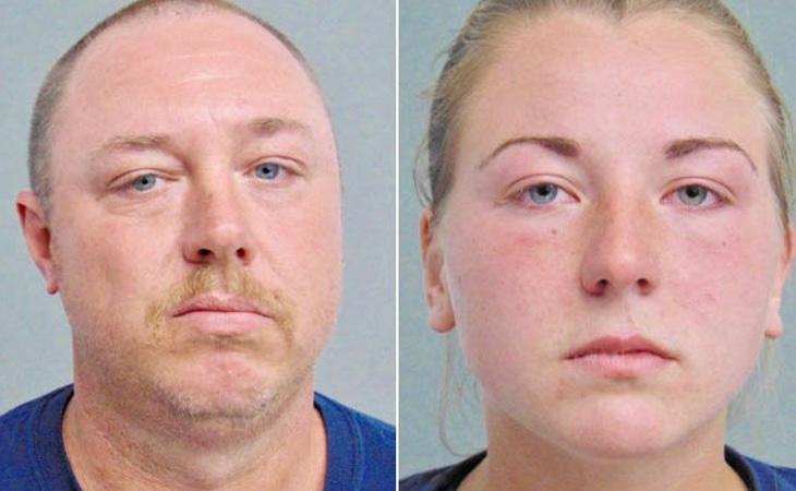 La pareja fue detenida por hacer un trío con un perro