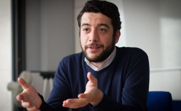 El diputado de C's en la Asamblea de Madrid, César Zafra