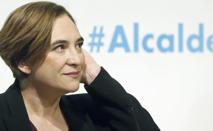 La alcaldesa de Barcelona, Ada Colau, en una fotografía de archivo