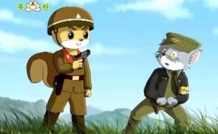 Dibujos animados para niños de la televisión estatal norcoreana