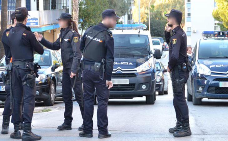 La Policía se desplazó al lugar inmediatamente