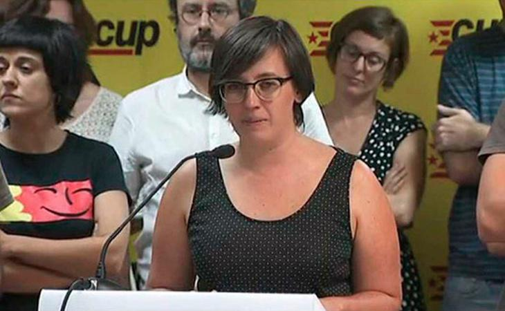La diputada de la CUP, Mireia Boya