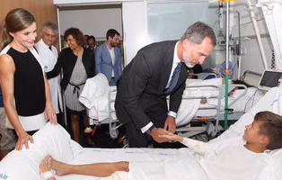 Varios heridos del atentado en Barcelona rechazan la visita de los Reyes en el hospital