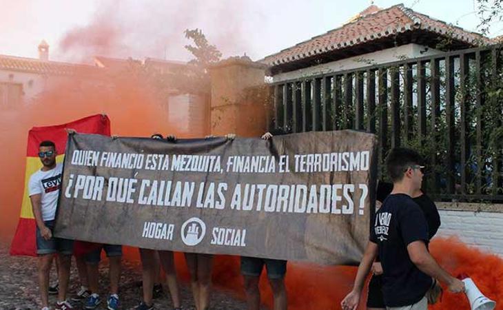 Hogar Social protagonizó los ataques contra la mezquita de Granada