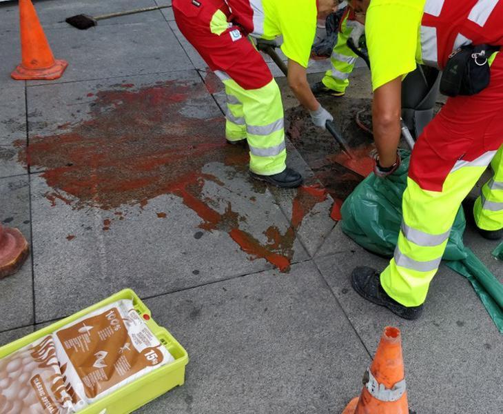Los neonazis de Hogar Social reventaron el minuto de silencio por las víctimas de Barcelona
