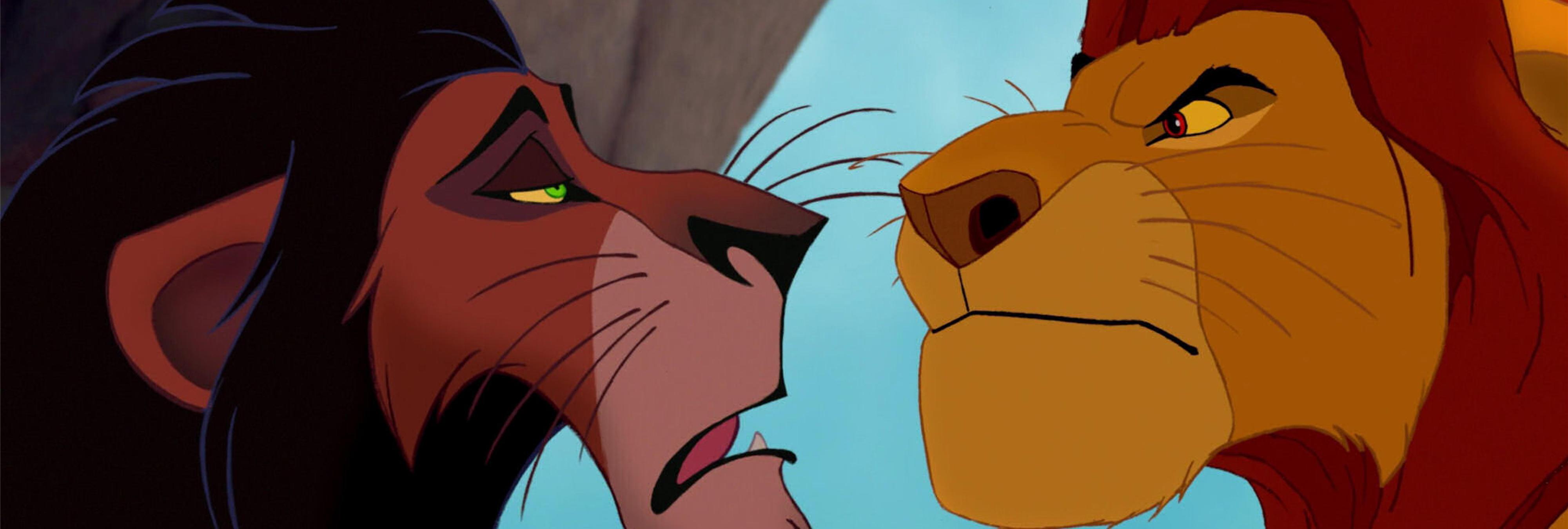 Mufasa y Scar nunca fueron hermanos en 'El Rey León'