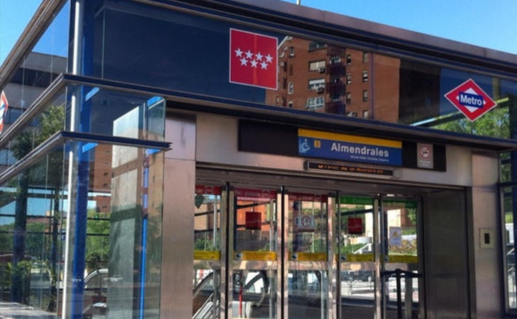La joven fue agredida a la salida del metro de Almendrales