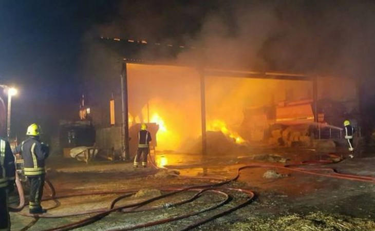 Incendio de la granja de Milton
