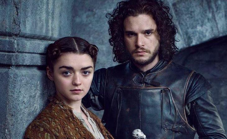 Arya y Jon Snow hubiesen vivido una historia de amor tormentosa