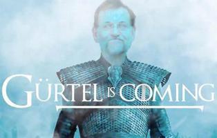 #GÜRTELisComing: Podemos convierte la corrupción del PP en una trama de 'Juego de Tronos'