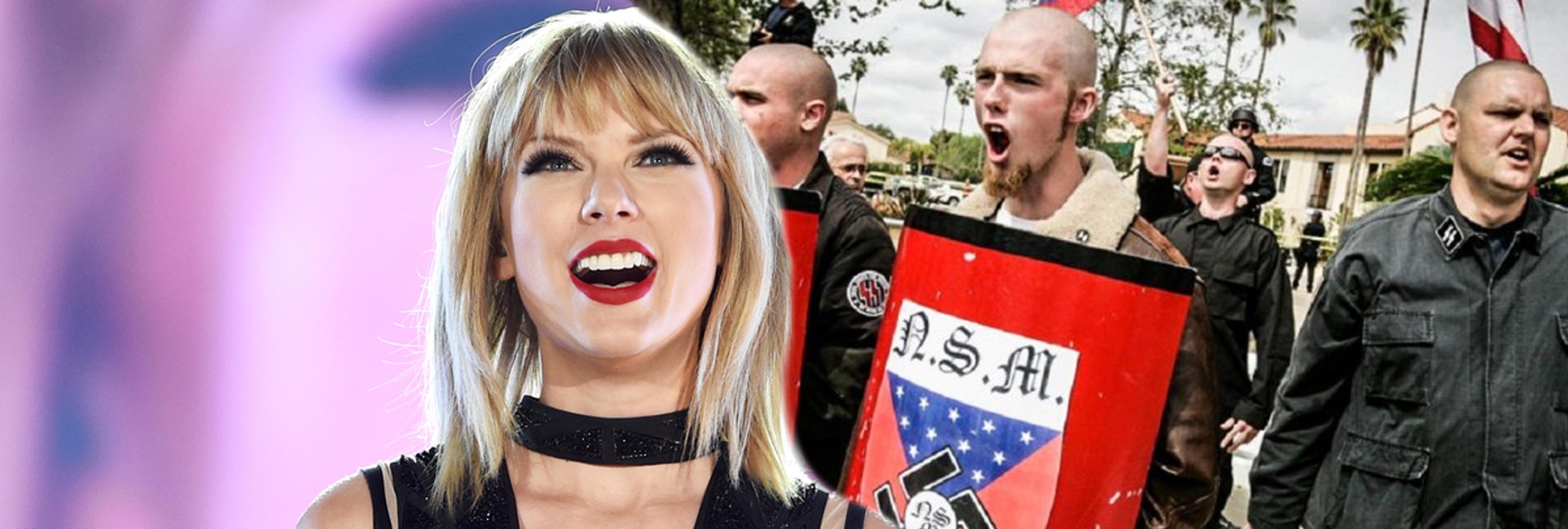 Los grupos neonazis reivindican el nuevo single de Taylor Swift como himno