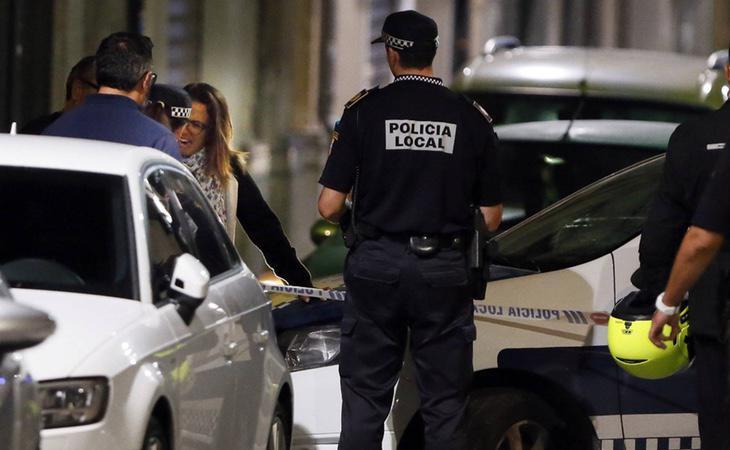 La Policía ha investigado las inmediaciones de la zona