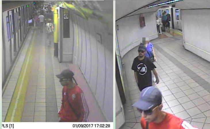 Imagen de los sospechosos