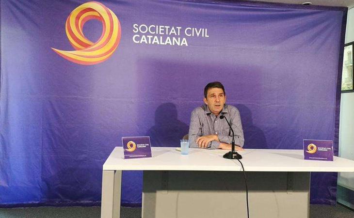 El vicepresidente de Sociedad Civil Catalana, José Domingo