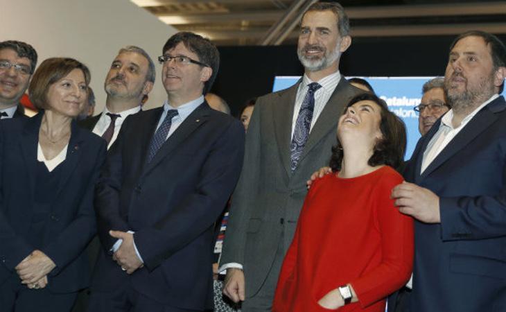 Soraya es la interlocura del Gobierno en Barcelona