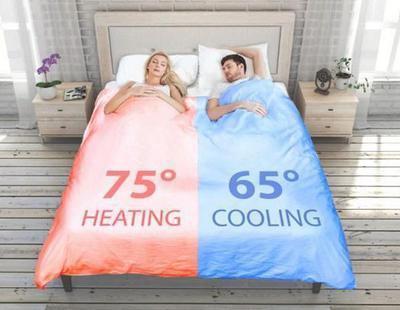 Inventan un edredón inteligente que te hace la cama y reconcilia con tu pareja