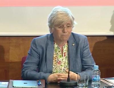 """La consejera catalana de Enseñanza, en apuros porque """"no practica el español"""""""
