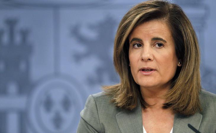 La ministra de Trabajo, Fátima Báñez