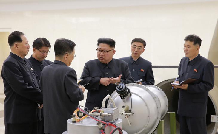 Kim Jong-Un comprueba las bombas con las que quiere atacar a Occidente