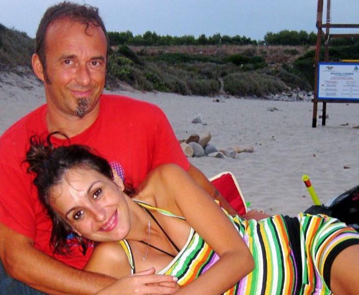 Juana Rivas, cuando aún era pareja de Francesco Arcuri
