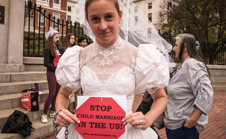 La ONG Unchained at last busca acabar con el matrimonio infantil en EE.UU