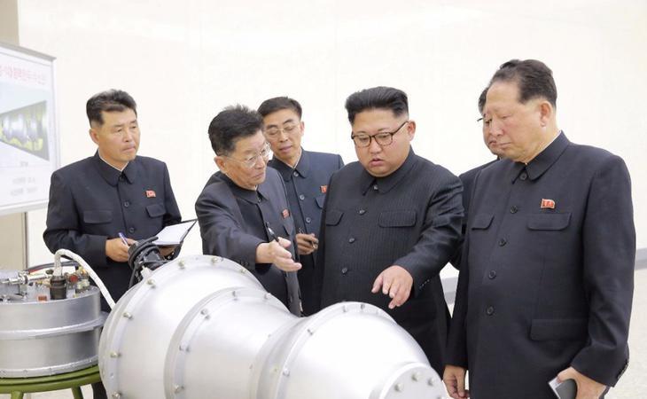 Kim Jong-un, ante la boma termonuclear con la que amenaza a sus enemigos