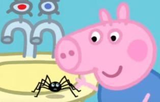 """Censuran un episodio en el que Peppa Pig juega con una araña por """"peligroso"""""""