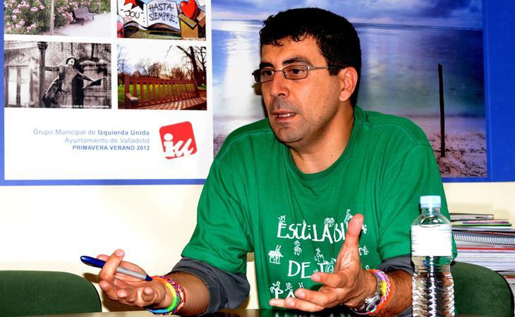 El concejal de Deportes del Ayuntamiento de Valladolid, Alberto Bustos