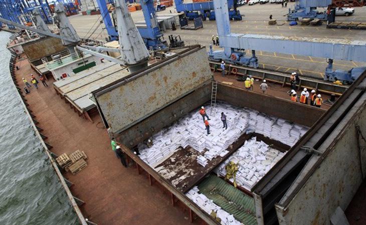 Uno de los cargueros norcoreanos interceptados en Panamá que se disponía a traficar con armas y drogas