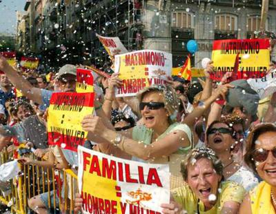 Católicos y el Foro de la Familia se va a movilizar contra la ley LGTBI