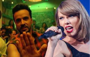 Taylor Swift destrona a 'Despacito' como rey internacional en los Billboard Hot 100