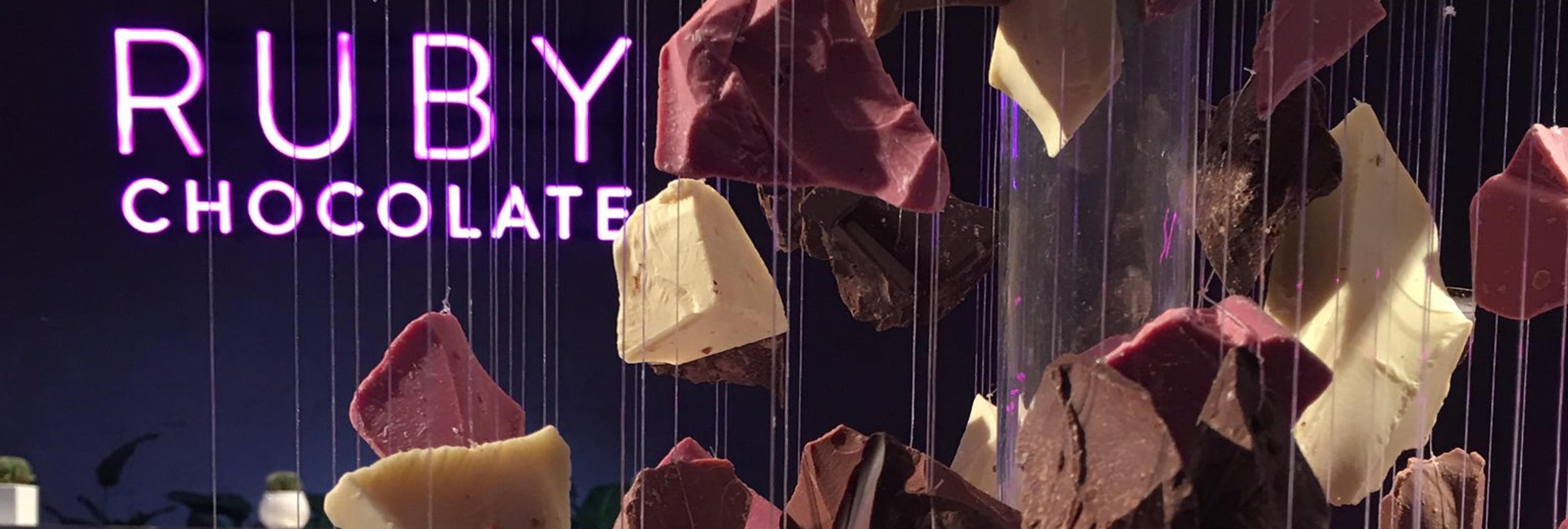 Chocolate Ruby, la nueva variedad natural de chocolate es rosa