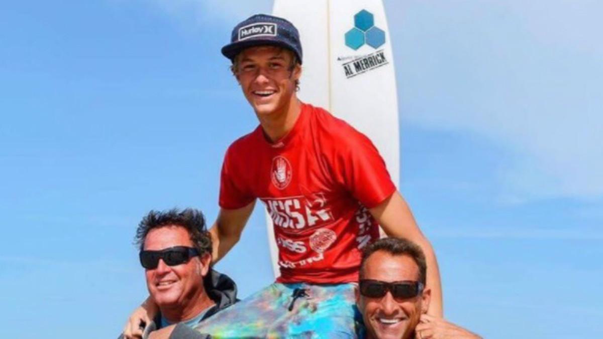 Zander Venezia, el surfista fallecido