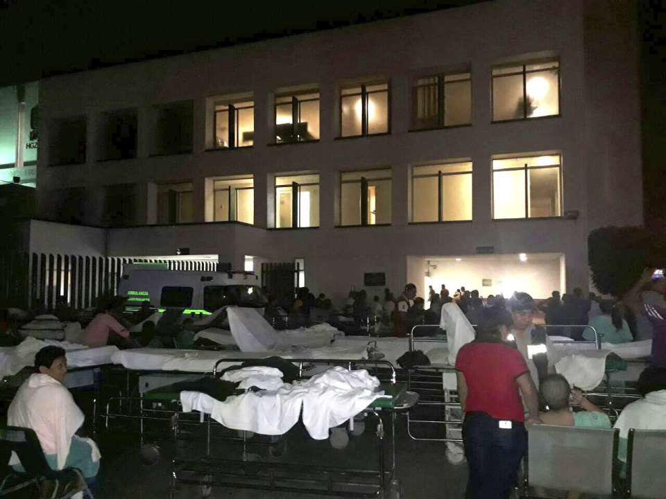 Hospital evacuado en Tabasco