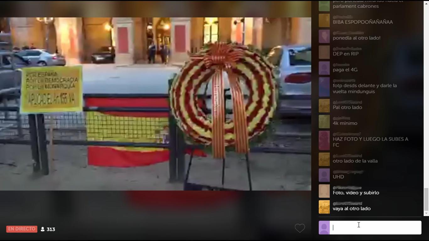 La retransmisión de Forocoches por Periscope