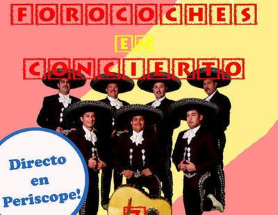 Forocoches envía unos mariachis a las puertas del Parlament