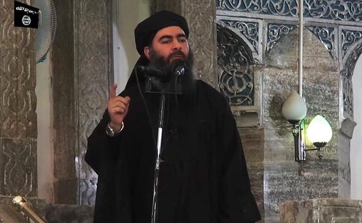El líder del Estado Islámico, Abu Bakr Al-Baghdadi