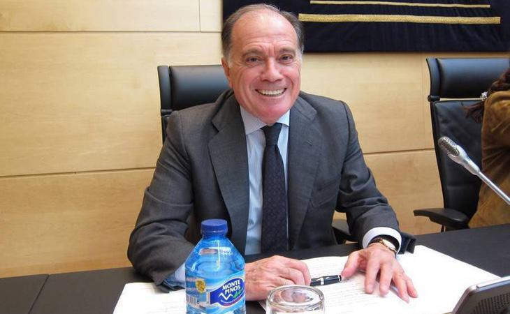 El exvicepresidente de Castilla y León, Tomás Villanueva