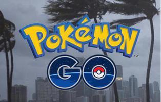'Pokémon Go' incita a salir a cazar en pleno Huracán Irma