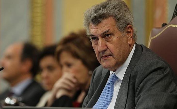 El expresidente del Congreso, Jesús Posada, presentará su futuro retratoe n un encuentro con los medios