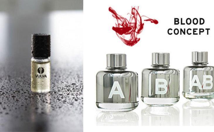 La sangre o el semen han sido empleados por la industria de la perfumería