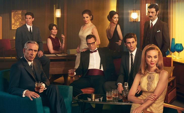 Imagen promocional de 'Velvet colección' con algunos de sus protagonistas