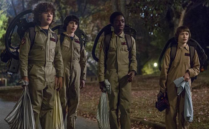 Imagen promocional de la segunda temporada de 'Stranger Things'