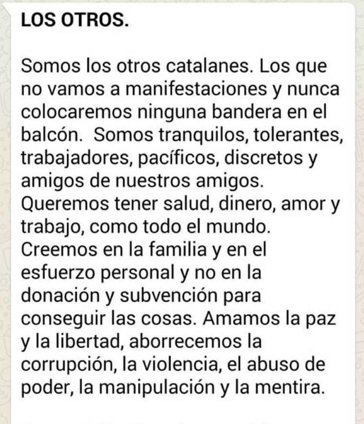 Manifiesto de <em>Los Otros</em>