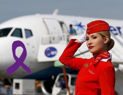 Machismo: Una aerolínea rusa paga menos a las azafatas con sobrepeso y mayores de 40 años