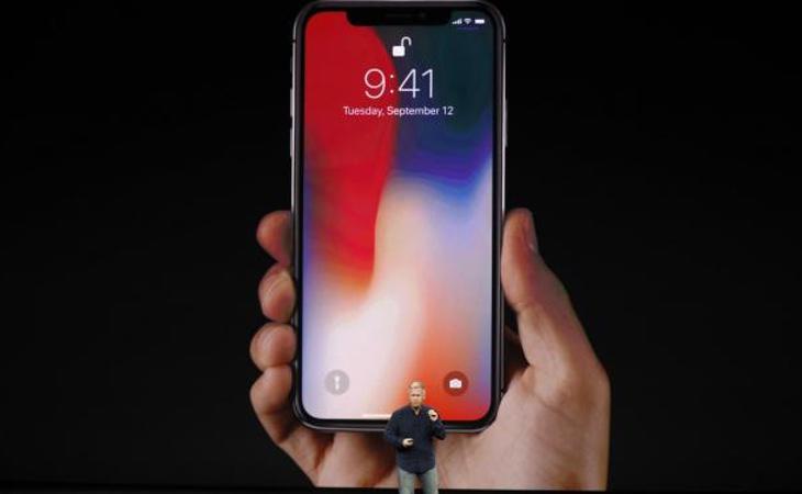 El Iphone X no tiene botón de inicio