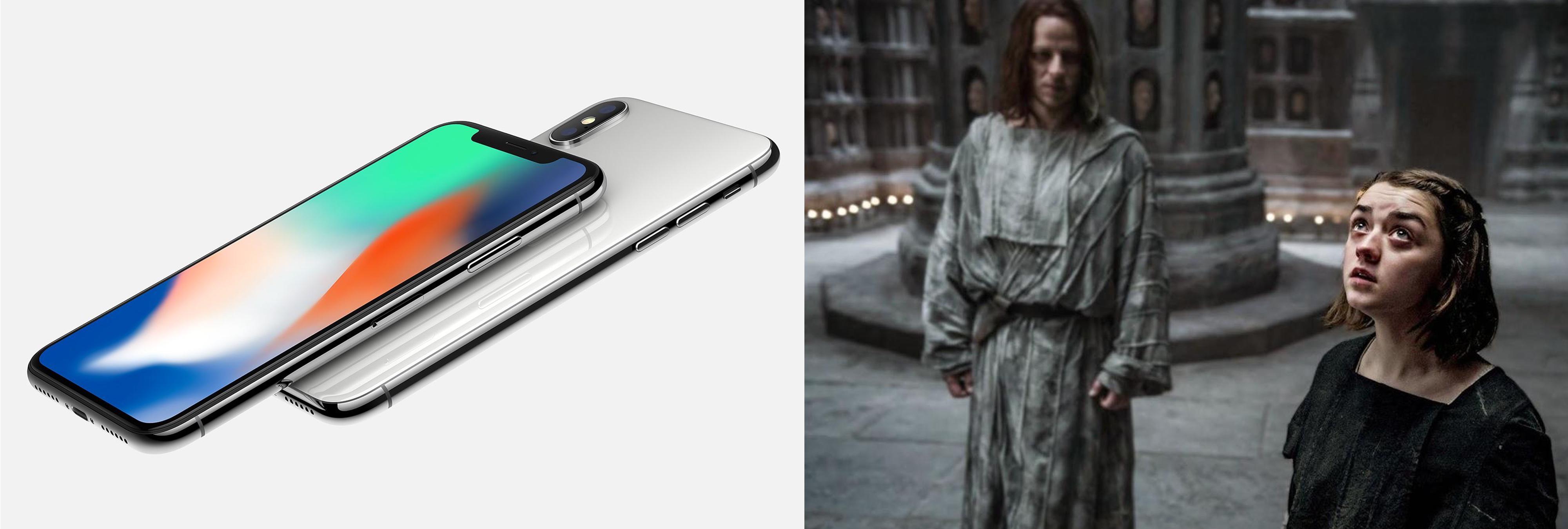 Arya Stark es capaz de 'hackear' todos los iPhone X