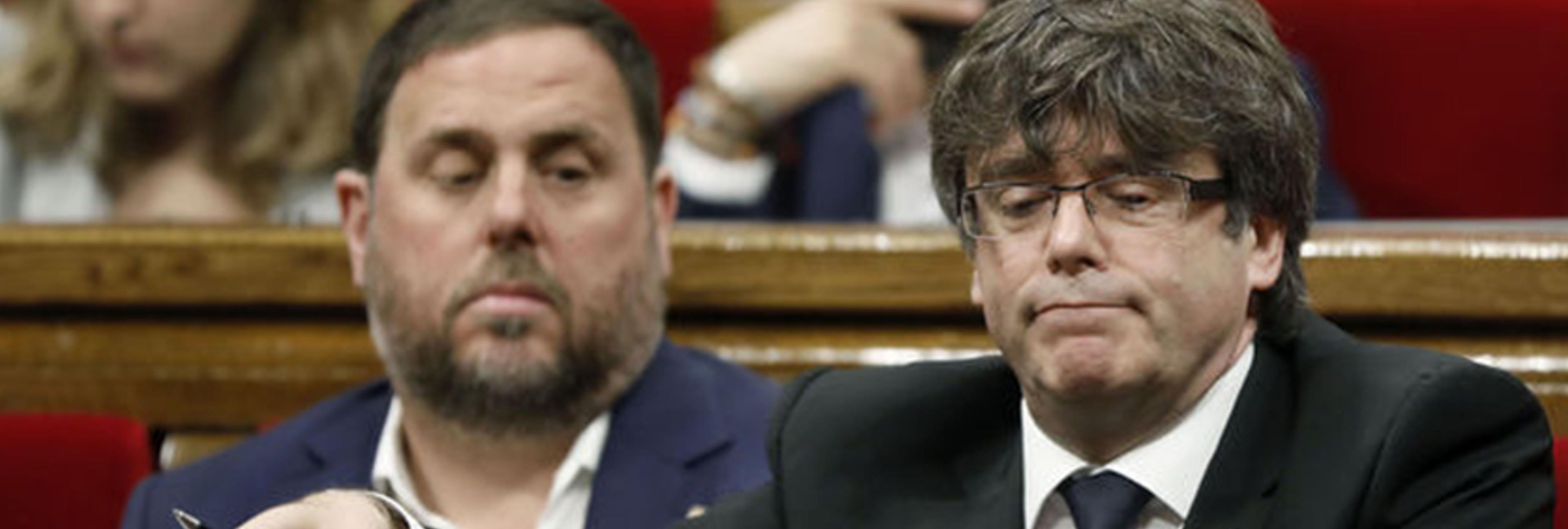 JxSí y la CUP piden suspender el Parlamento hasta después del 1-O