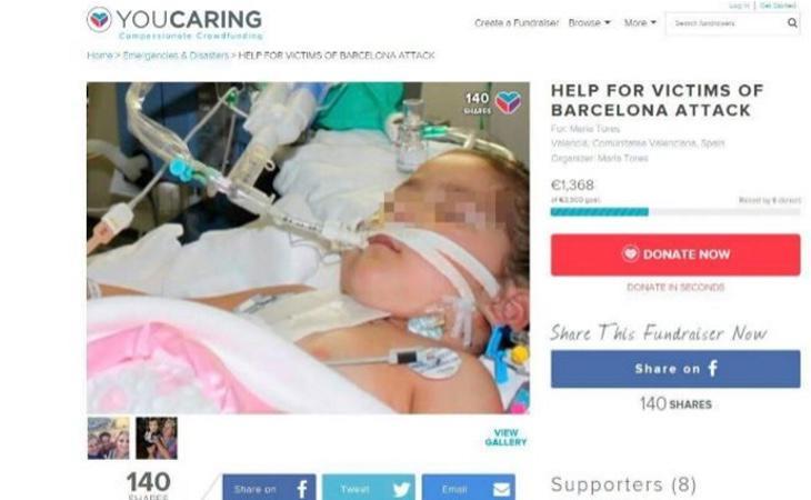 Anuncio en una web de crowfunding